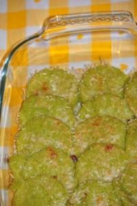 Gnocchi di semolino alle zucchine