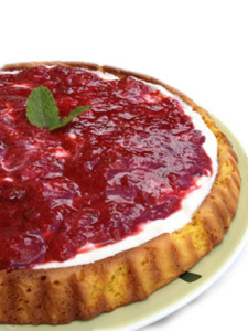 TORTA SEMI-LIGHT FRAGOLE E MENTA